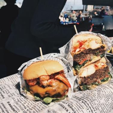 Smorgasburg - Surf & Turf Burger