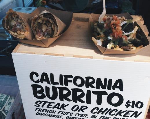 Smorgasburg - California Burrito